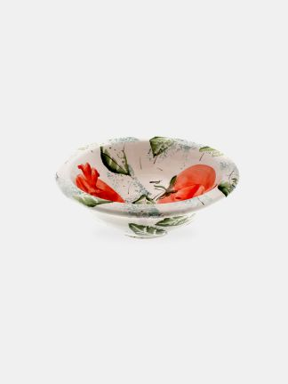 Bowl motifs by a mansion  - PA0256A-1